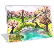 Watercolor Forest Laptop Skin
