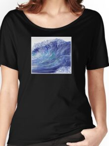 Pacific Waves Women's Relaxed Fit T-Shirt