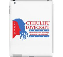 Vote for Cthulhu iPad Case/Skin