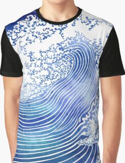 Pacific Waves II Graphic T-Shirt