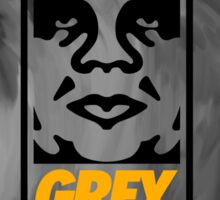Obey Grey  Sticker