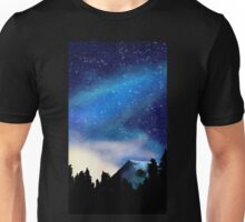 Starry Night Over the Mountains  Unisex T-Shirt