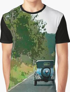 Drive in the Countryside Graphic T-Shirt
