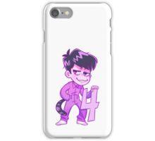 Jumpsuit Ichimatsu iPhone Case/Skin