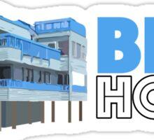 Blue House Geofilter Sticker