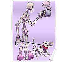Un-Dead Doggie Walkin' Poster