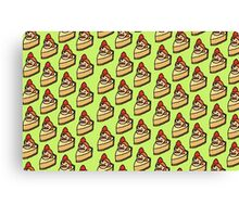 Coran Cheesecake Canvas Print