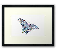 Colorfly Framed Print