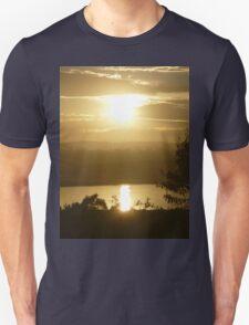 *Glorious Golden Light* Unisex T-Shirt