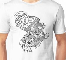 Rooster BW Unisex T-Shirt