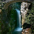 Christine Falls, Mount Rainier, WA by Harv Churchill