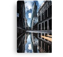 Inclination - London Lights Canvas Print