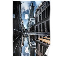 Inclination - London Lights Poster