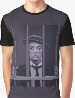 Buster Keaton Painting Graphic T-Shirt