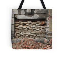 barricade of bags Tote Bag