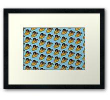 Hunk of Cheese Framed Print