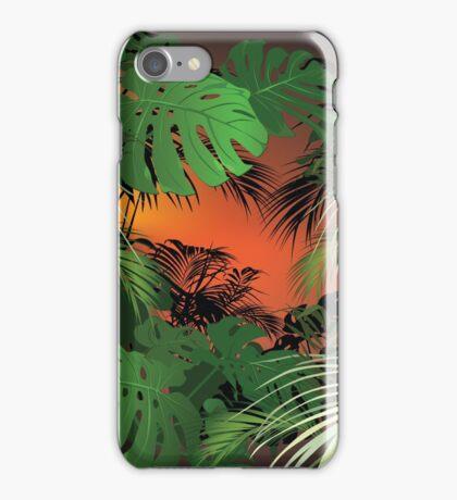 Tropical Glow iPhone Case/Skin