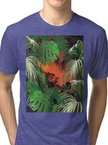 Tropical Glow Tri-blend T-Shirt