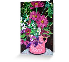 Little Pink Jug Greeting Card