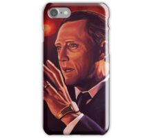 Christopher Walken Painting iPhone Case/Skin