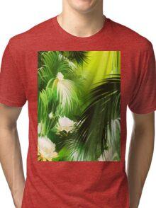 Tropical Bloom Tri-blend T-Shirt