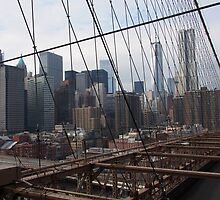 New York Brooklyn Bridge nr 3 by silvianeto