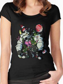 Rhapsody for Rocksteady Women's Fitted Scoop T-Shirt