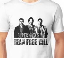 Supernatural Team Free Will W Unisex T-Shirt