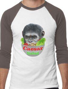 Caesar Salad Men's Baseball ¾ T-Shirt