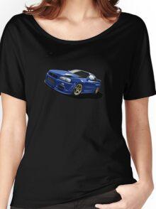 R34 Skyline Gtr Women's Relaxed Fit T-Shirt