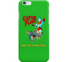 captain planet and the planeteers shirt iPhone Case/Skin