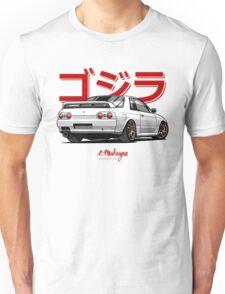 Nissan Skyline GTR R32 (white) Unisex T-Shirt