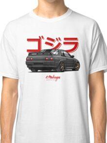 Nissan Skyline GTR R32 (black) Classic T-Shirt