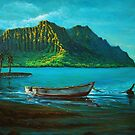 Kaneohe Bay Early Morn 1  by jyruff
