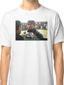 The Wire - Money be green Classic T-Shirt