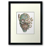 Zombie Robot! Framed Print