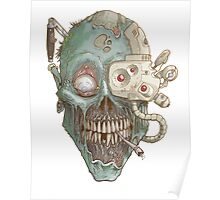Zombie Robot! Poster