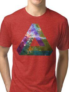 God's Impossible Triangle V1 | MXTHEMATIX Tri-blend T-Shirt