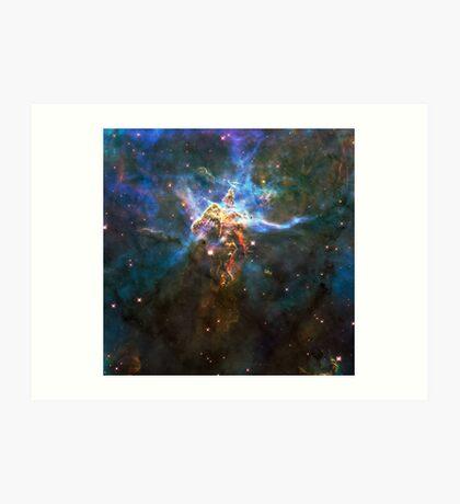 God's Impossible Triangle V1 | MXTHEMATIX Art Print