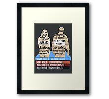 caskett Framed Print