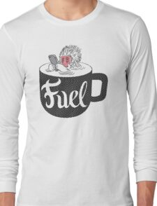 Coffee is Fuel Long Sleeve T-Shirt