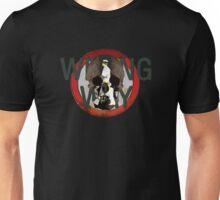 Wrong Way Skull Unisex T-Shirt