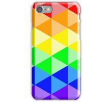 Rainbow Triangle Pattern iPhone Case/Skin
