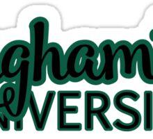 Binghamton University Sticker