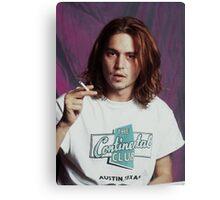 Johnny Depp - Halftone Series Canvas Print