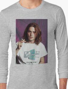 Johnny Depp - Halftone Series Long Sleeve T-Shirt