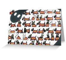 Commonwealth Games 2014 Scottie Dogs Greeting Card