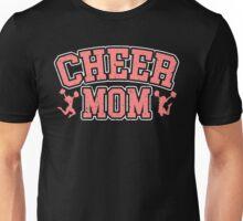 Cheer Mom Cheerleader Mother Daughter Son Cheerleading Vintage Distressed School Sports Unisex T-Shirt