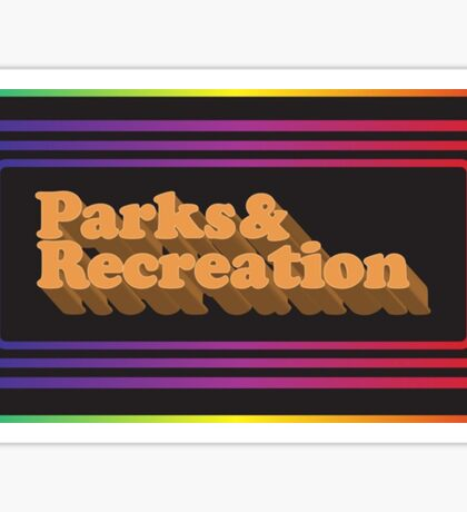 Parks and Rec - Limited Edition Logo Sticker
