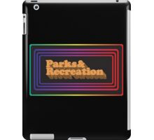 Parks and Rec - Limited Edition Logo iPad Case/Skin